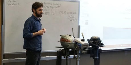 Outboard Motor Service, Repair and Maintenance with Matt Mardesich tickets