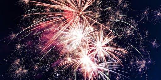 Birdlip fireworks