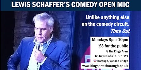 Lewis Schaffer's Comedy Open Mic tickets