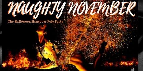 Naughty November - The Halloween Hangover Pole Class tickets