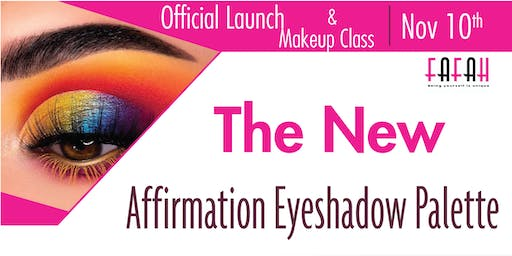 Official Product Launch + Makeup Class ( Perfect Eyebrows )