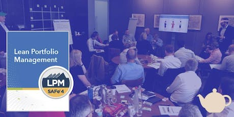 SAFe Lean Portfolio Management (Mon/Tue/Wed) tickets