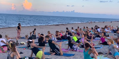 Sunrise Beach Yoga Delray Beach
