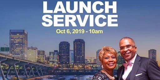 PROCEEDING WORD CHURCH RVA LAUNCH SERVICE