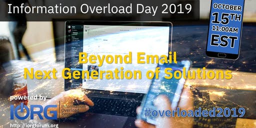 Information Overload Day 2019 Webinar