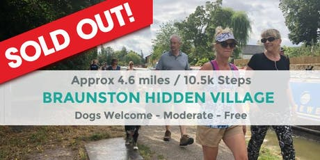 BRAUNSTON AND THE HIDDEN VILLAGE   4.6 MILES   MODERATE   NORTHANTS WALK tickets