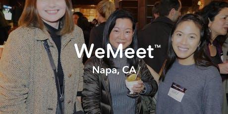 WeMeet Napa Networking & Social Mixer tickets
