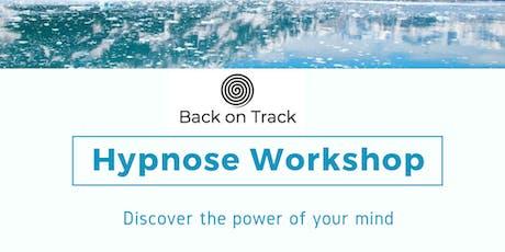 Back on Track Hypnose Workshop tickets
