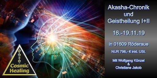 Lesen in der Akasha Chronik und geistiges Heilen I+II