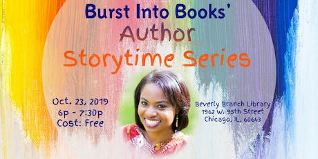Burst Into Books' Author Storytime Series tickets