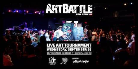 Art Battle New York - September 25, 2019 tickets