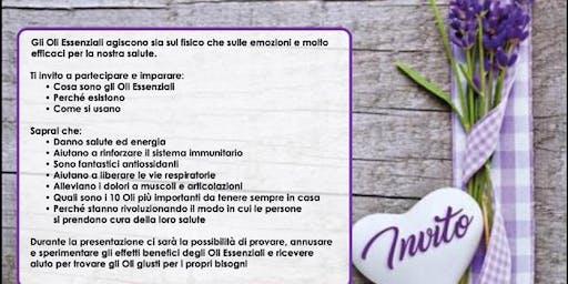 Pisa - Corso gratuito sugli oli essenziali