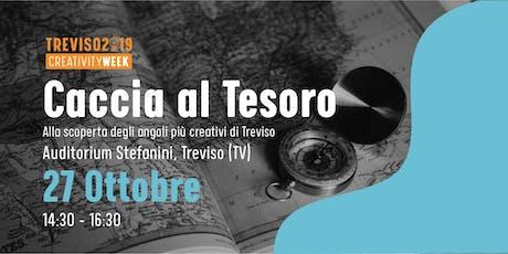 Caccia al tesoro alla ricerca dei luoghi sconosciuti e inusuali di Treviso. biglietti