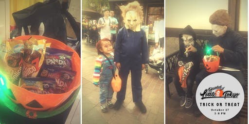 Trick-or-Treat in Little Tokyo