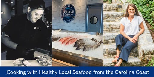 Cooking with Healthy Local Seafood from the Carolina Coast