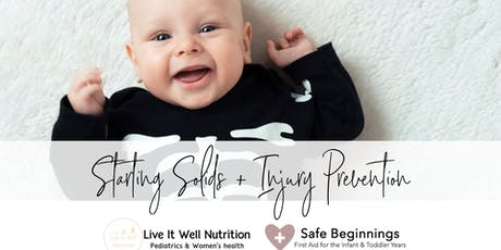 Starting Solids & Injury Prevention at Active Baby Store in Kitsilano! tickets