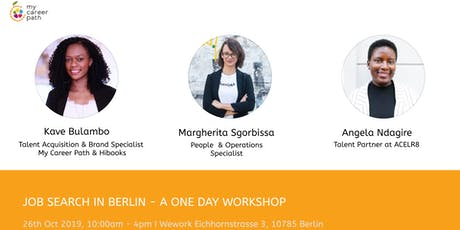 JOB SEARCH IN BERLIN - A ONE DAY WORKSHOP tickets