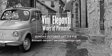 VINI ELEGANTI-WINES OF PIEMONTE tickets