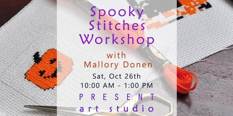 Spooky Cross-stitching Workshop with Mallory Donen in Vancouver tickets