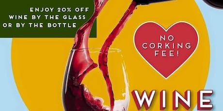 Wine Wednesday tickets