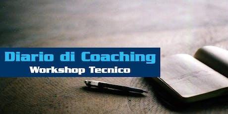 Workshop IL DIARIO DI COACHING - BOLOGNA biglietti