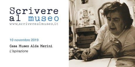 Workshop di scrittura creativa allo Spazio Alda Merini biglietti