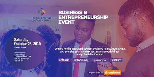 CNP Presents: Business and Entrepreneurship Event