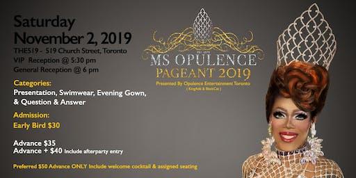 Mr. Ms. Opulence 2019