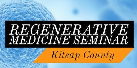 Free Regenerative Medicine & Stem Cell Seminar for Pain Relief - Sequim, WA tickets