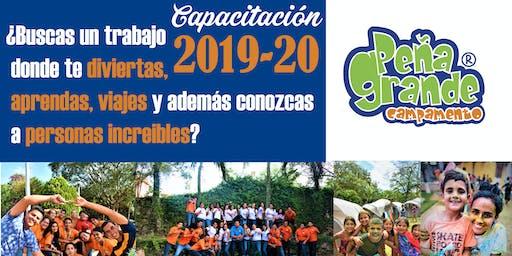 Capacitación Peña Grande 2019-20