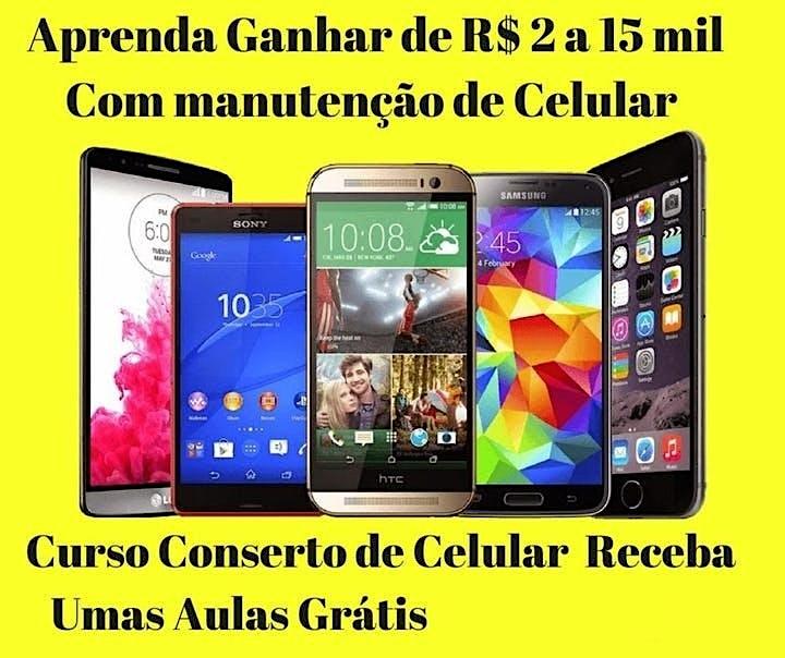Imagem do evento Curso de manutenção de celular DF Brasília