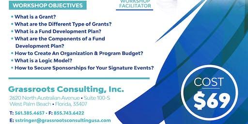 Effective Strategies in Grant Writing & Resource Development