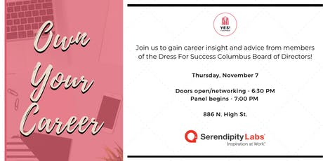 Own Your Career!  A Panel Event with the Dress for Success Columbus Board tickets