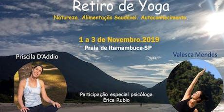 Retiro de Yoga em Itamambuca tickets