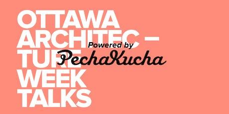 OAW Talks, powered by PechaKucha tickets