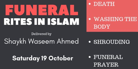 FUNERAL RITES IN ISLAM tickets