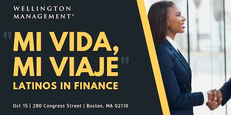 """Mi Vida, Mi Viaje"" - Latinos in Finance tickets"