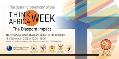 Opening Ceremony: Diaspora Impact in the Limelight