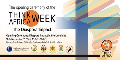 Opening Ceremony: Diaspora Impact in the Limelight tickets