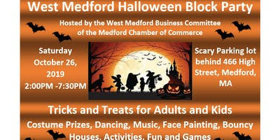 West Medford Halloween Block Party