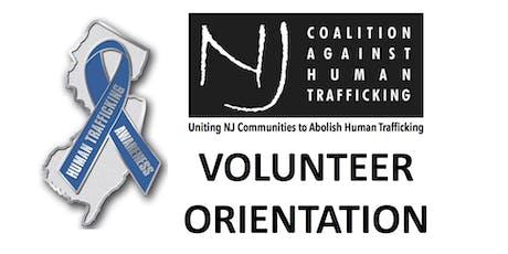 NJCAHT Volunteer Orientation October 2019 tickets