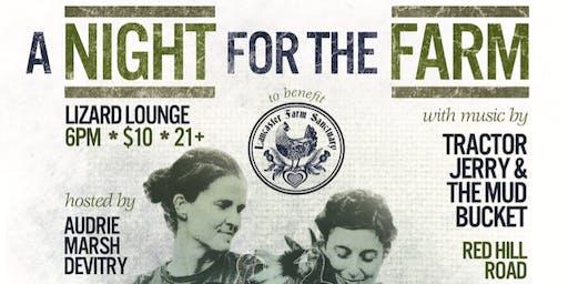 A Night for The Farm: A Fundraiser for the Lancaster Farm Sanctuary