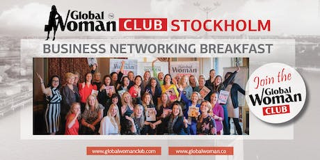 GLOBAL WOMAN CLUB STOCKHOLM: BUSINESS NETWORKING BREAKFAST - NOVEMBER tickets