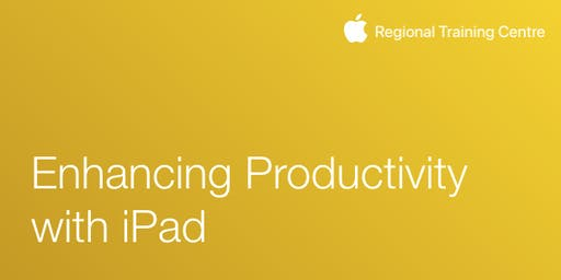 Enhancing Productivity with iPad 2019