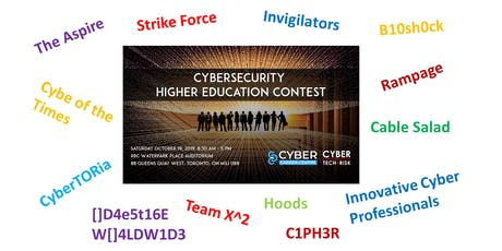 Cybersecurity Higher Education Contest 2019 tickets