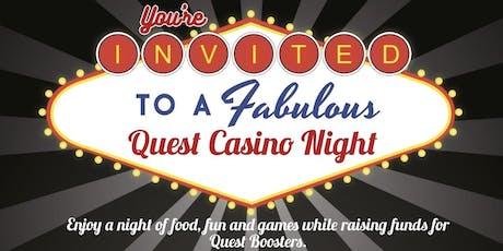 Quest Casino Night tickets