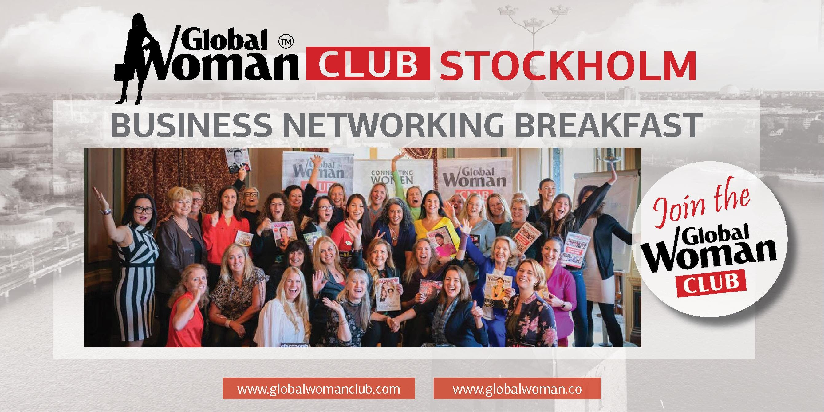 GLOBAL WOMAN CLUB STOCKHOLM BUSINESS NETWORKING BREAKFAST - DECEMBER