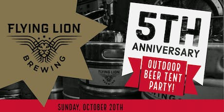 Flying Lion Brewing - 5 Year Anniversary Party! tickets