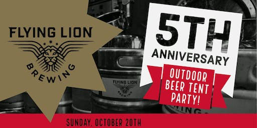 Flying Lion Brewing - 5 Year Anniversary Party!