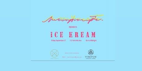 Ice Kream tickets